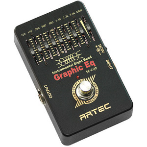 [Artec] BLACK AIR PEDAL  8CH Graphic EQ (SE-EQ8)