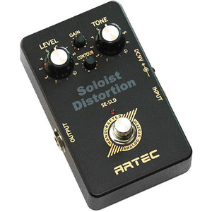 [Artec] BLACK AIR PEDAL  Soloist Distortion (SE-SLD)