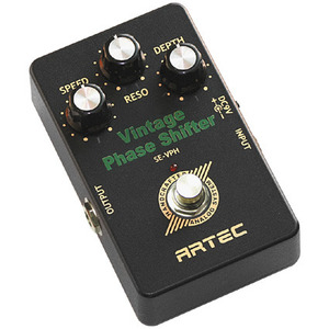 [Artec] BLACK AIR PEDAL  Vintage Phase Shifter (SE-VPH)